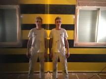 Estuco Veneciano Original a rayas amarillas y negras Borussia Dortmund (11)
