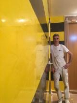 Estuco Veneciano Original a rayas amarillas y negras Borussia Dortmund (18)