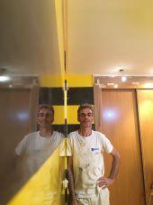 Estuco Veneciano Original a rayas amarillas y negras Borussia Dortmund (21)
