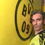 Estuco Veneciano Original a rayas amarillas y negras Borussia Dortmund (58)