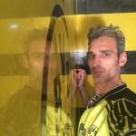 Estuco Veneciano Original a rayas amarillas y negras Borussia Dortmund (61)