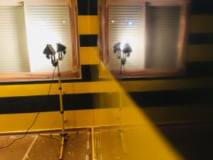Estuco Veneciano Original a rayas amarillas y negras Borussia Dortmund (63)