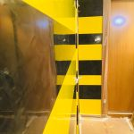 Estuco Veneciano Original a rayas amarillas y negras Borussia Dortmund (76)