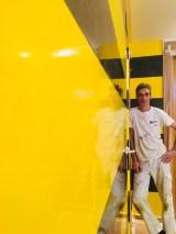 Estuco Veneciano Original a rayas amarillas y negras Borussia Dortmund (79)