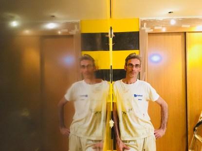 Estuco Veneciano Original a rayas amarillas y negras Borussia Dortmund (81)