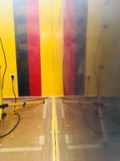 Estuco Veneciano Original a rayas amarillas y negras Borussia Dortmund (85)
