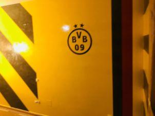 Estuco Veneciano Original a rayas amarillas y negras Borussia Dortmund (99)
