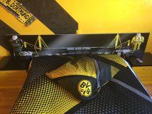 Estuco Veneciano Original a rayas amarillas y negras Borussia Dortmund Decoracion (13)