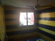 Estuco Veneciano Original a rayas amarillas y negras Borussia Dortmund Decoracion (17)