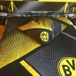 Estuco Veneciano Original a rayas amarillas y negras Borussia Dortmund Decoracion (3)