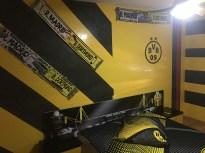 Estuco Veneciano Original a rayas amarillas y negras Borussia Dortmund Decoracion (7)
