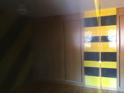 Estuco Veneciano Original a rayas amarillas y negras Borussia Dortmund - Terminado dia (16)