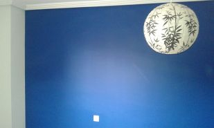 Dormitorio Sideral S-500 Blanco roto y Esmalte Pymacril Azul Oscuro (5)