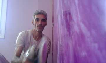 Abrillantando Estuco Marmoleado Violeta (5)