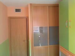 Habitacion Infantil Plastico Sideral Naranja y Esmalte Valacryl color verde con mueble (10)