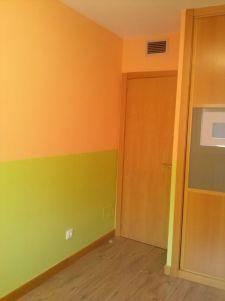 Habitacion Infantil Plastico Sideral Naranja y Esmalte Valacryl color verde con mueble (12)