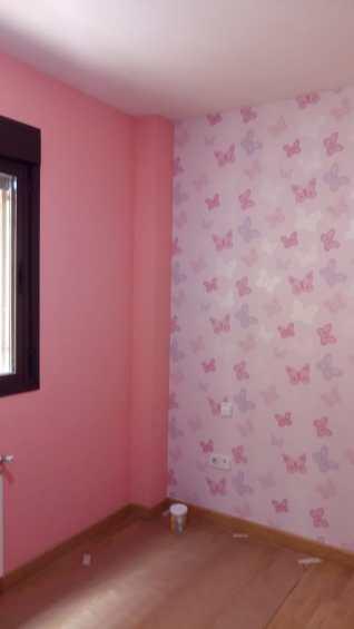 Plastico Rosa y Papel Pintado Mariposas (5)