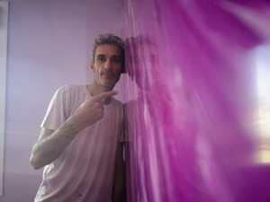 Reflejos Sobre Estuco Marmoleado Violeta (14)