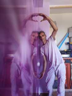 Reflejos Sobre Estuco Marmoleado Violeta (15)