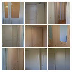 Lacado de puertas Ral 1013 Despues - COLLAGE