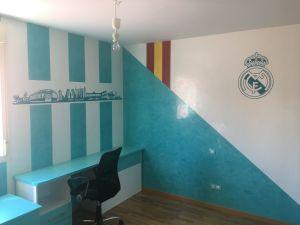 Estuco Veneciano Real Madrid con vinilos terminado (mañana) (55)
