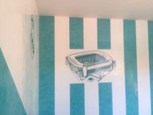 Estuco Veneciano Real Madrid con vinilos terminado (mañana) (9)