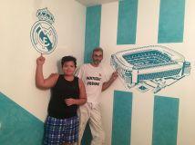 Estuco Veneciano Real Madrid con vinilos terminado (noche) (27)
