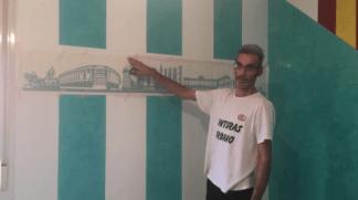 Instalando Vinilo Ciudad de Madrid
