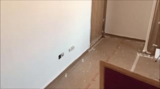 Tercera mano de plastico sideral S-500 en paredes (7)