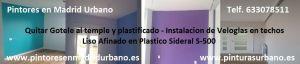 Cambiar de Gotele Plastificado a veloglas Liso Afinado - Sara