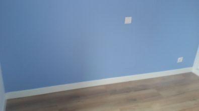 Color azul claro S-0510-R80B y un paño oscuro de esmalte pymacril azul S-1040-R80B - Terminado (10)