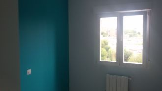 Color turquesa claro S-0505-B50G y un paño oscuro de esmalte pymacril turquesa S-1050-B50G Terminado (11)
