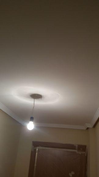 1ª mano de plastico y replastecido en techos y paredes (1)