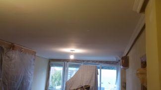 1ª mano de plastico y replastecido en techos y paredes (11)