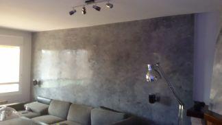 Estuco Veneciano gris y negro con cera alex - decoracion (5)