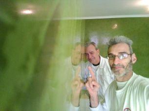 Estuco Marmoleado a 2 colores Verde claro y oscuro (6)