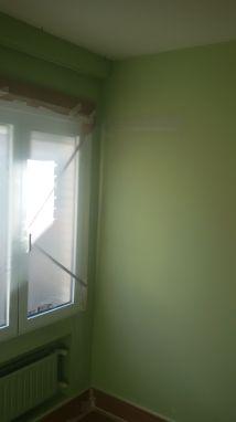 Instalacion de tiras de 5cm de Veloglas en resto de paredes (8)