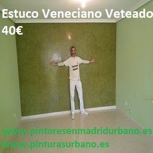 Oferta Estuco Veneciano Espatuleado con Veteado color Verde