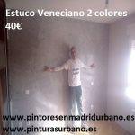 Oferta Estuco Veneciano Mitiko a 2 colores gris y blanco