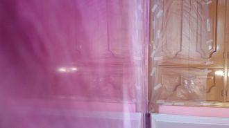 Estuco Marmol a 3 colores Violeta con cera (12)