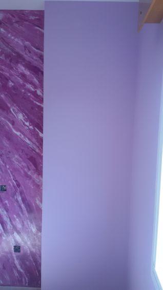 Estuco Marmoleado Violeta y Esmalte Valacryl Malva (17)