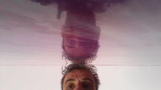 Reflejos sobre estuco Marmoleado Violeta (11)