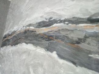 Estuco Efecto Marmol Negro, Gris, Crema, Marron y Oro Metalizado (4)