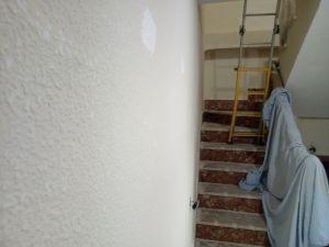 Aplicando 1ª mano de aguaplast rellenos en paredes (6)