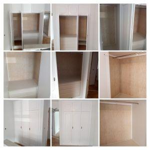 Lacado de armarios y papel pintado - COLLAGE