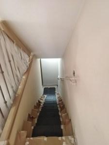 Estado tiro de escalera a planta sotano