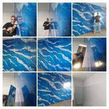 Estuco El Viso Marmol Azul - COLLAGE