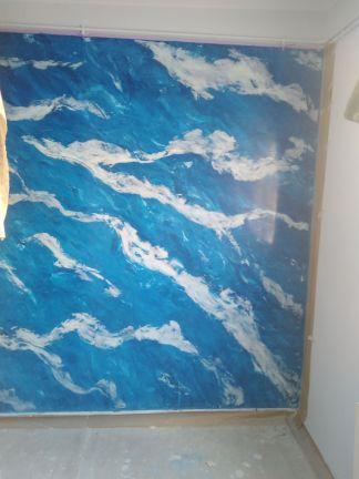 Estuco Marmol En Viso Vilalbilla Azul 4