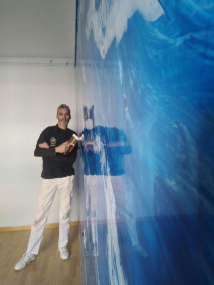 Estuco Marmol El Viso Vilalbilla Azul Pinturas Urbano 6