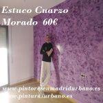 Oferta Estuco Cuarzo Amatista Morado - Pinturas Urbano